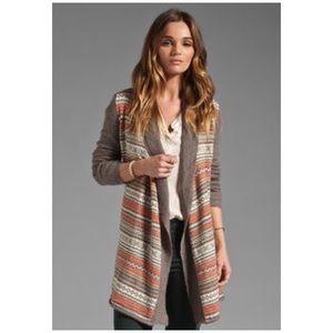 Splendid • aspen fair isle cardigan sweater